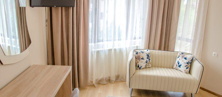 Единична стая в Хотел Мира Враца