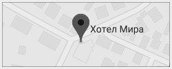 Хотел Мира Враца Карта